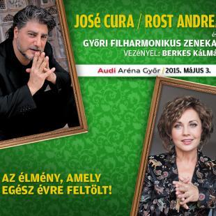 Jose Cura és Rost Andrea ajánló