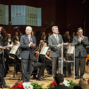 Audi Hungaria és a Győri Filharmonikus Zenekar