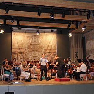 Kihelyezett kormányülésen koncertezett a Győri Filharmonikus Zenekar